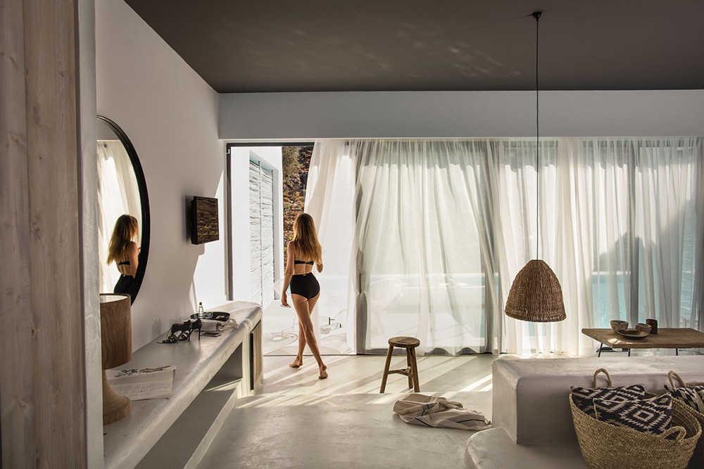Mẫu biệt thự nghỉ dưỡng phong cách Hy Lạp